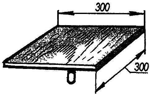 Рис. 1. Сокол—щит для раствора