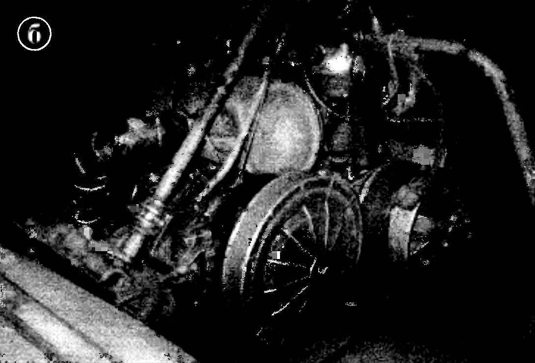 Силовой агрегат от мотопомпы МП-80 на снегоходе «Буран»: