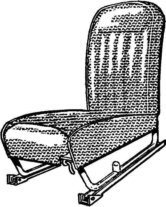 Рис. 3. Переднее сиденье.