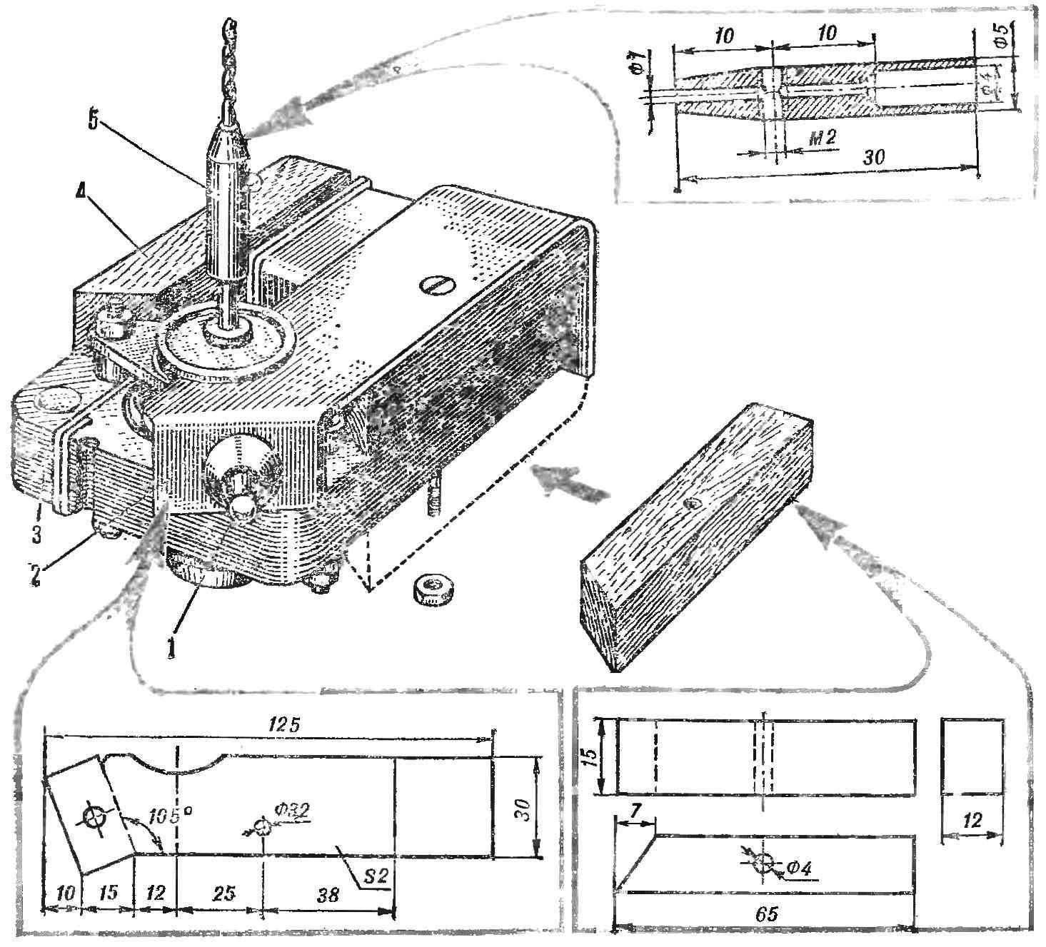 Конструкция электродрели