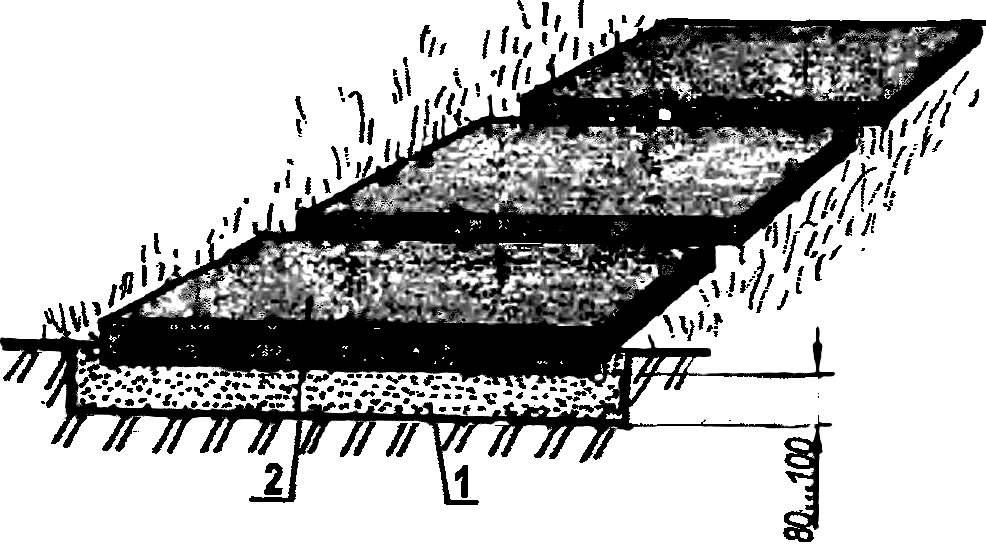 Дорожка из плит
