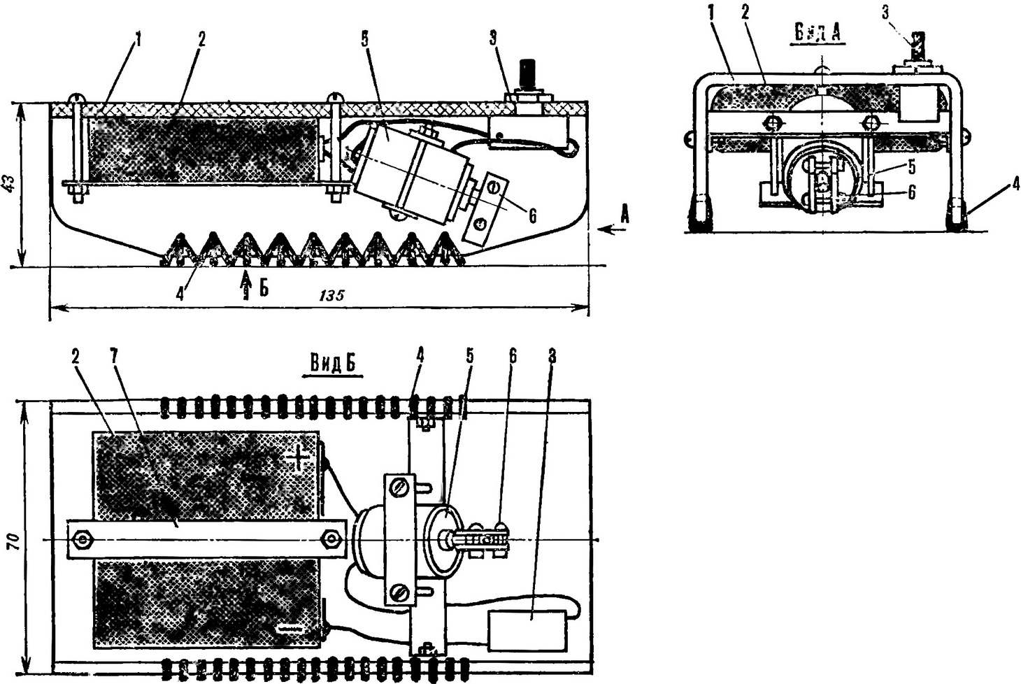 Рис. 1. Схема внутрихода