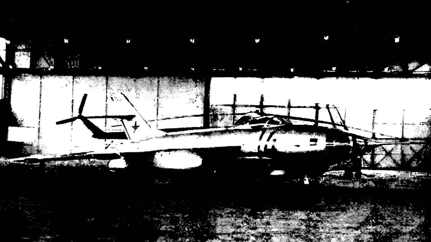Самолет-разведчик Як-27Р в экспозиции Монинского музея ВВС