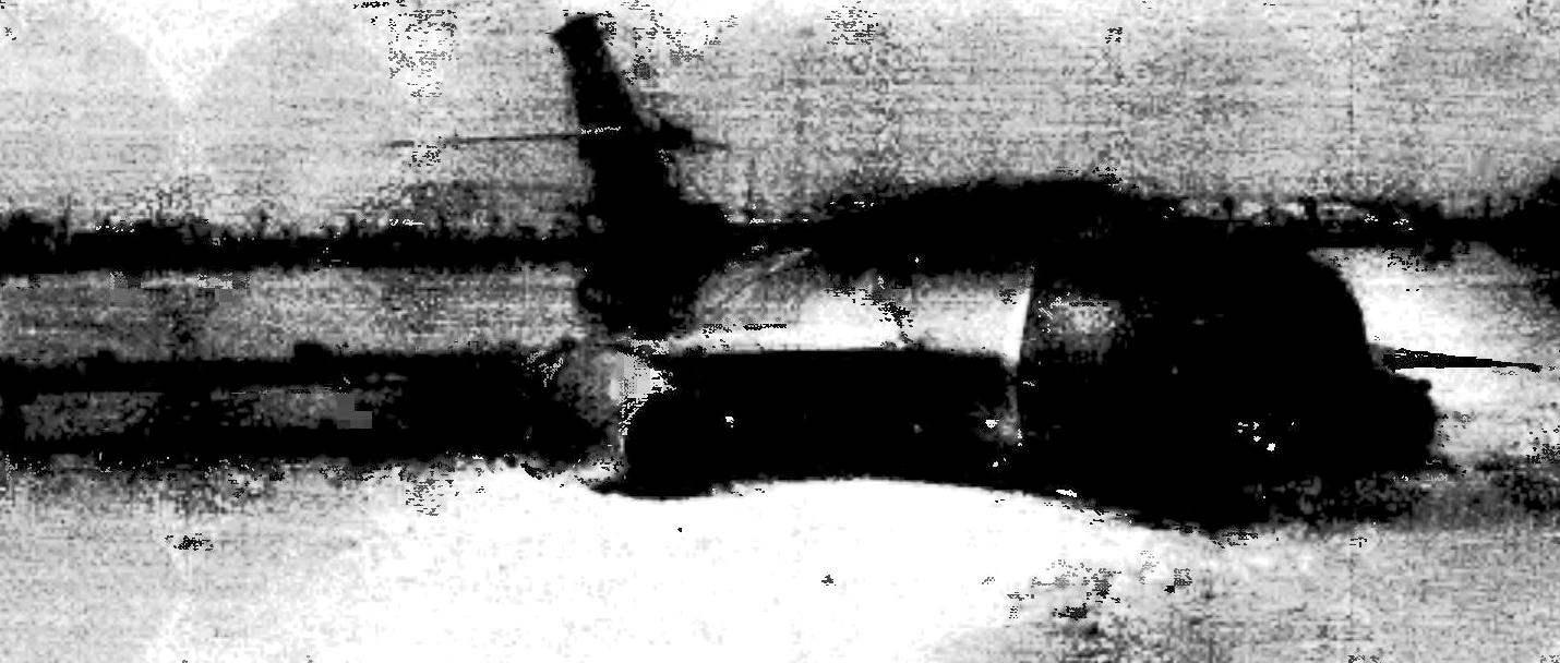 Аварийная посадка истребителя-перехватчика Як-27