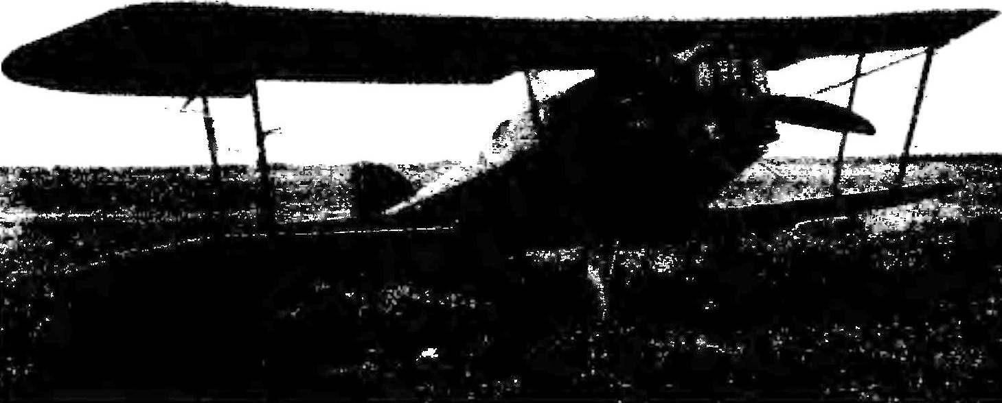 «Мартинсайд» F.4 на Центральном аэродроме Москвы. 1929 г.