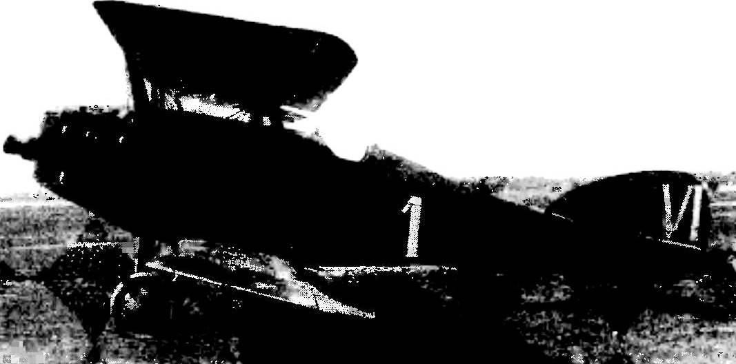«Мартинсайд» на испытаниях в НИИ ВВС, лето 1924 г.