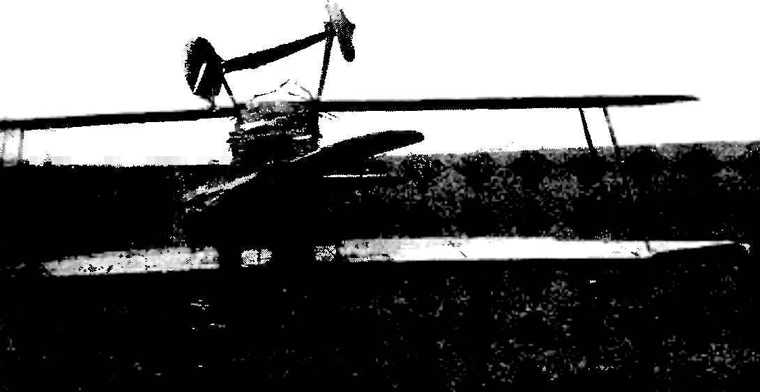 Авария инструктора С. С. Зызымова на посадке. 10 мая 1929 г. Качинская летная школа