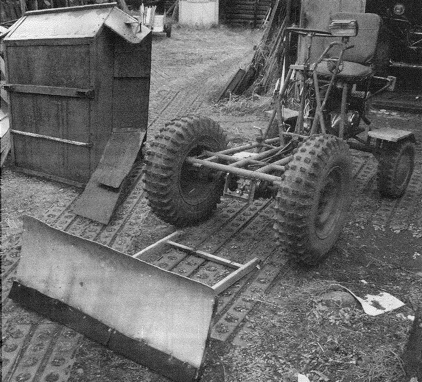 Шасси мини-трактора — со снятыми отвалом и кузовом