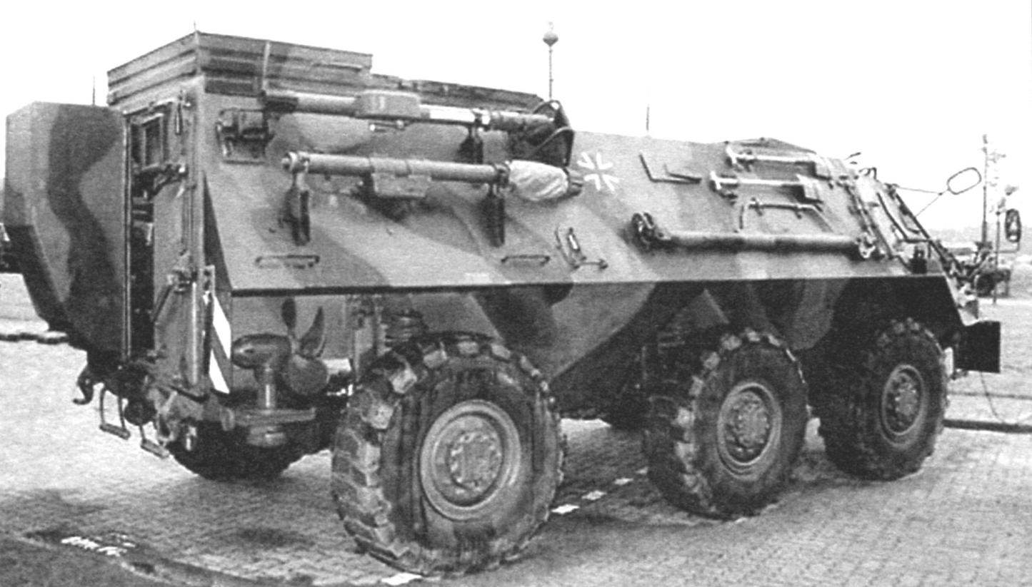 Командно-штабная машина Tpz 1 A2/FuFu на базе БТР «Фукс»