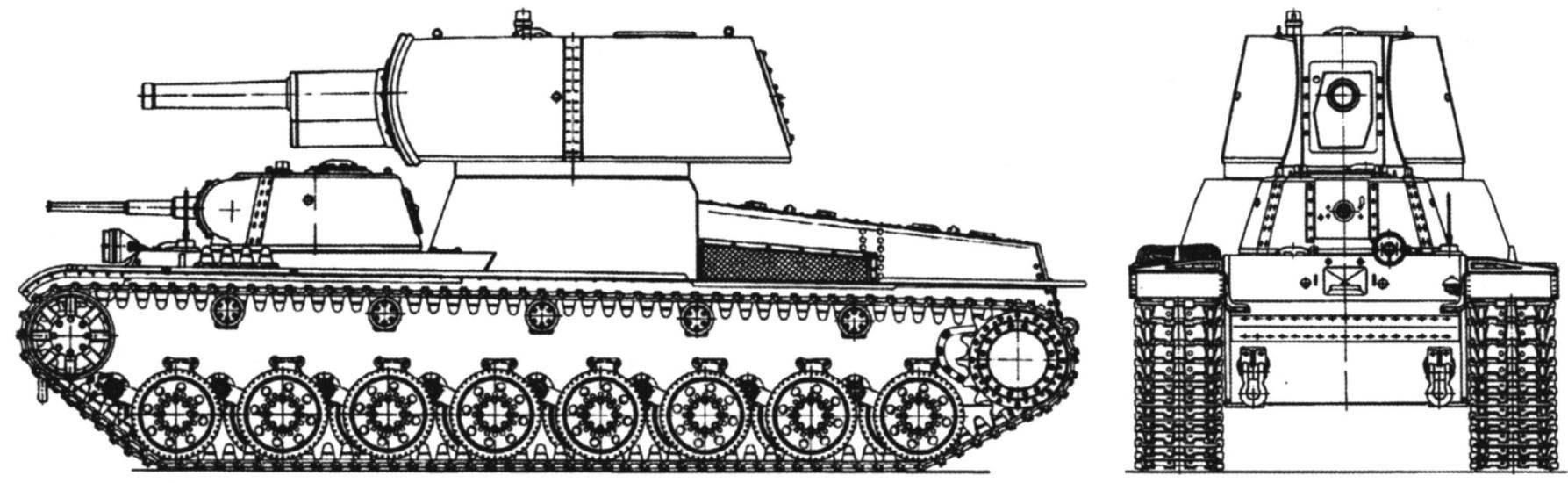 Тяжёлый танк Т-103 (проект на шасси танка Т-100)