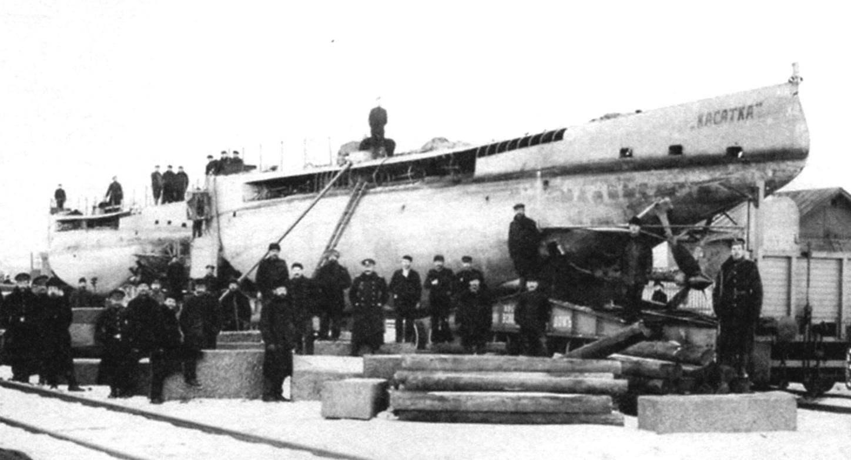 Подводная лодка «Касатка», Россия, 1905 г.