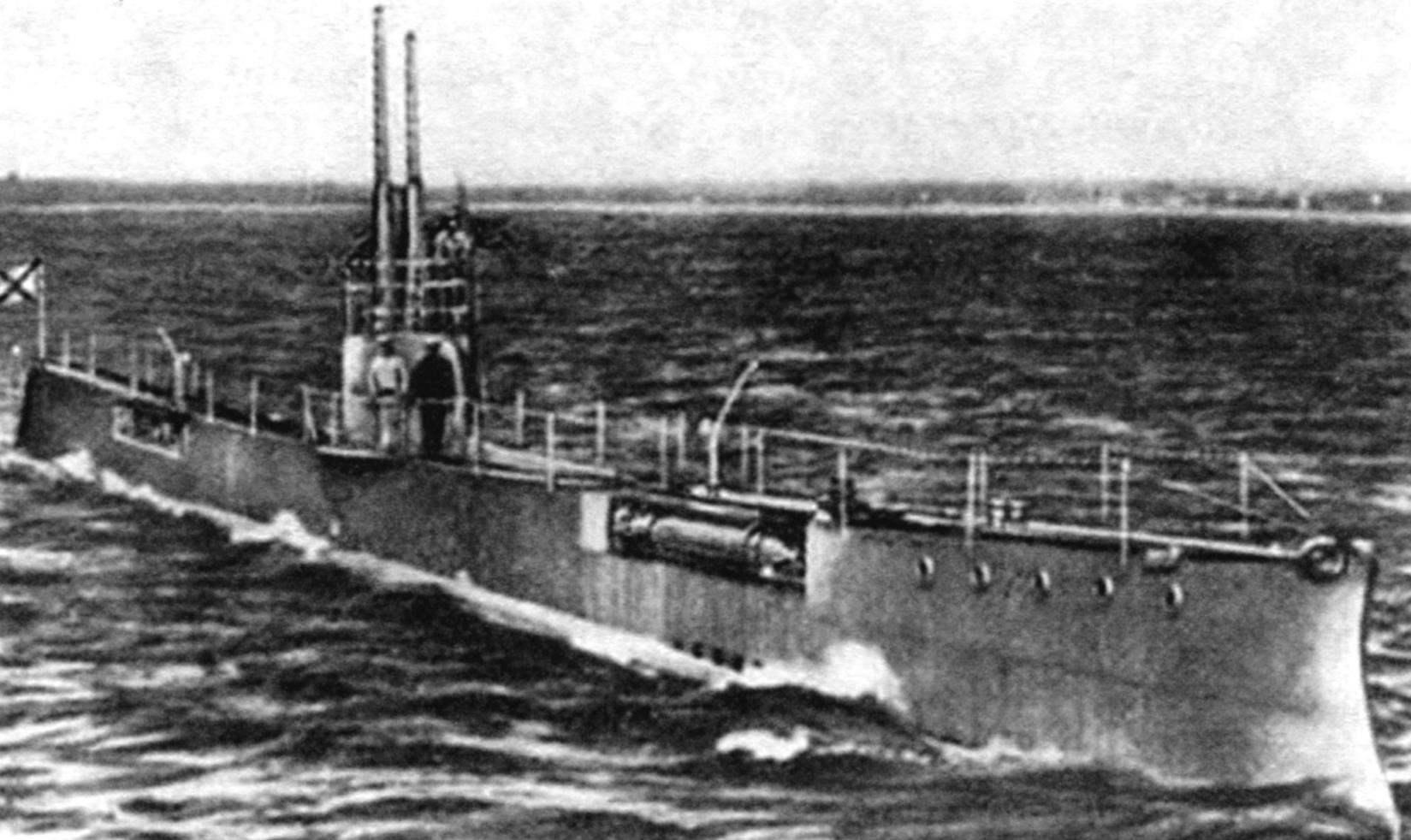 Подводная лодка «Акула», Россия, 1911 г.