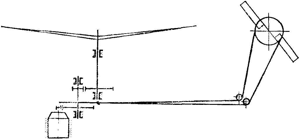 Рис. 3. Схема трансмиссии модели.