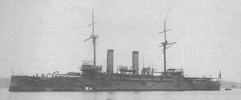 Броненосный крейсер «Асама», 1899 г.