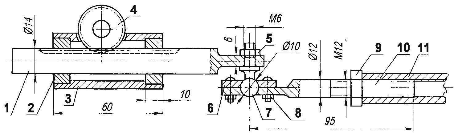 Рулевой реечный механизм