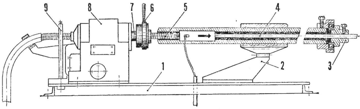 Приспособление для навивки пружин