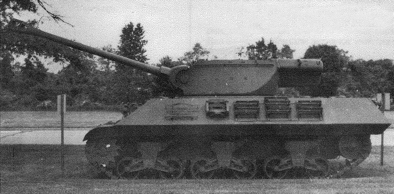 Истребитель танков М36 в военном музее на Абердинском полигоне в США