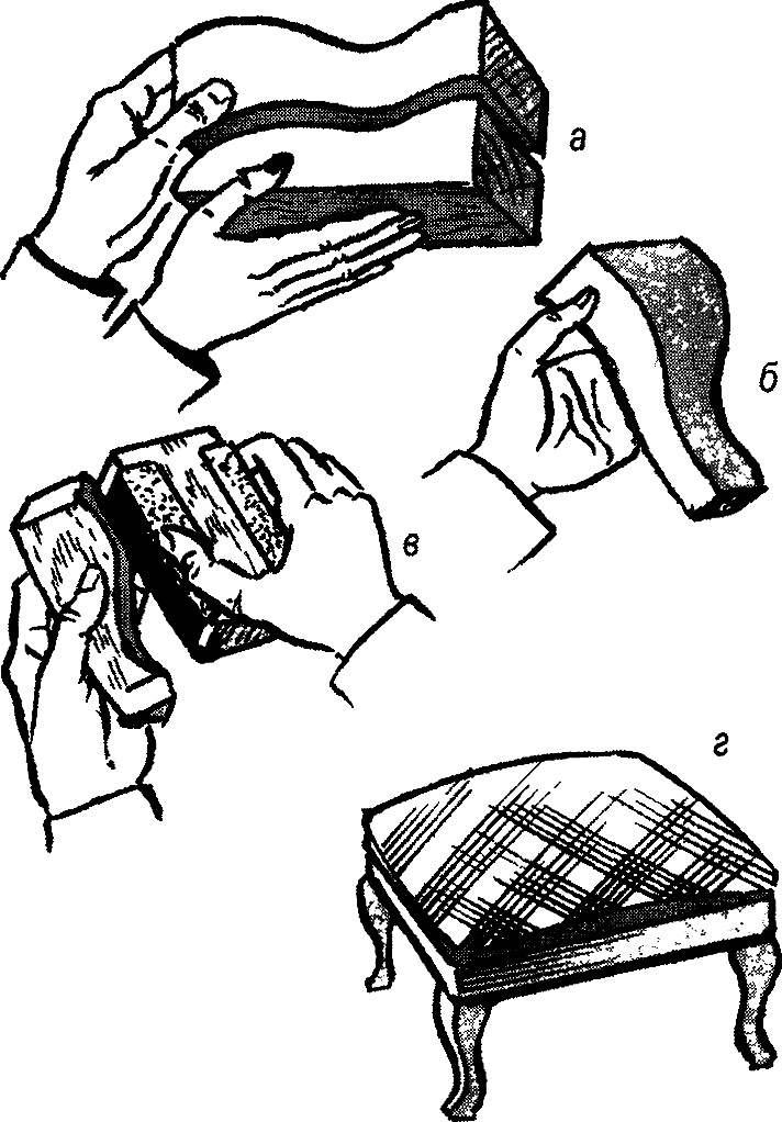 Рис.4. Изготовление малой ножки (упрощенный вариант)