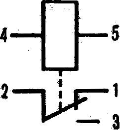 Электрическая схема реле.
