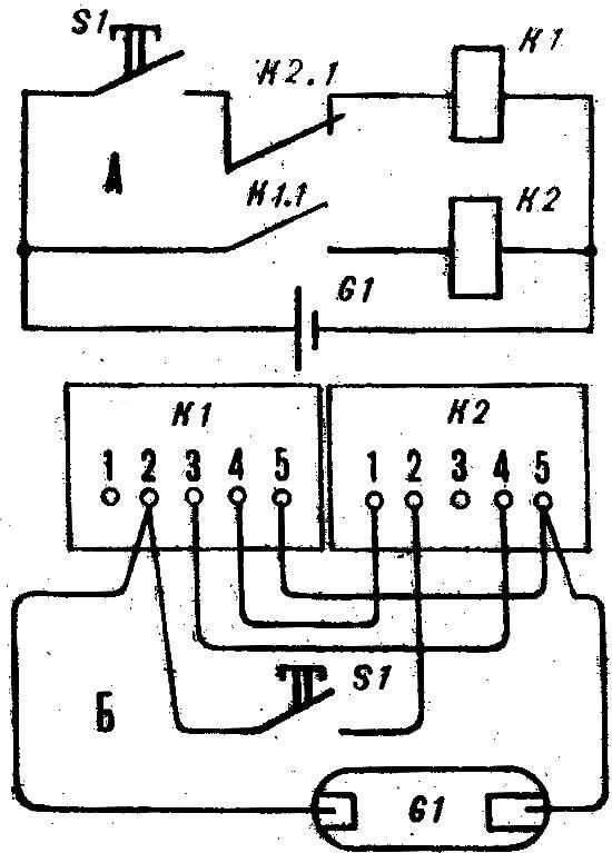 Схема пульс-пары