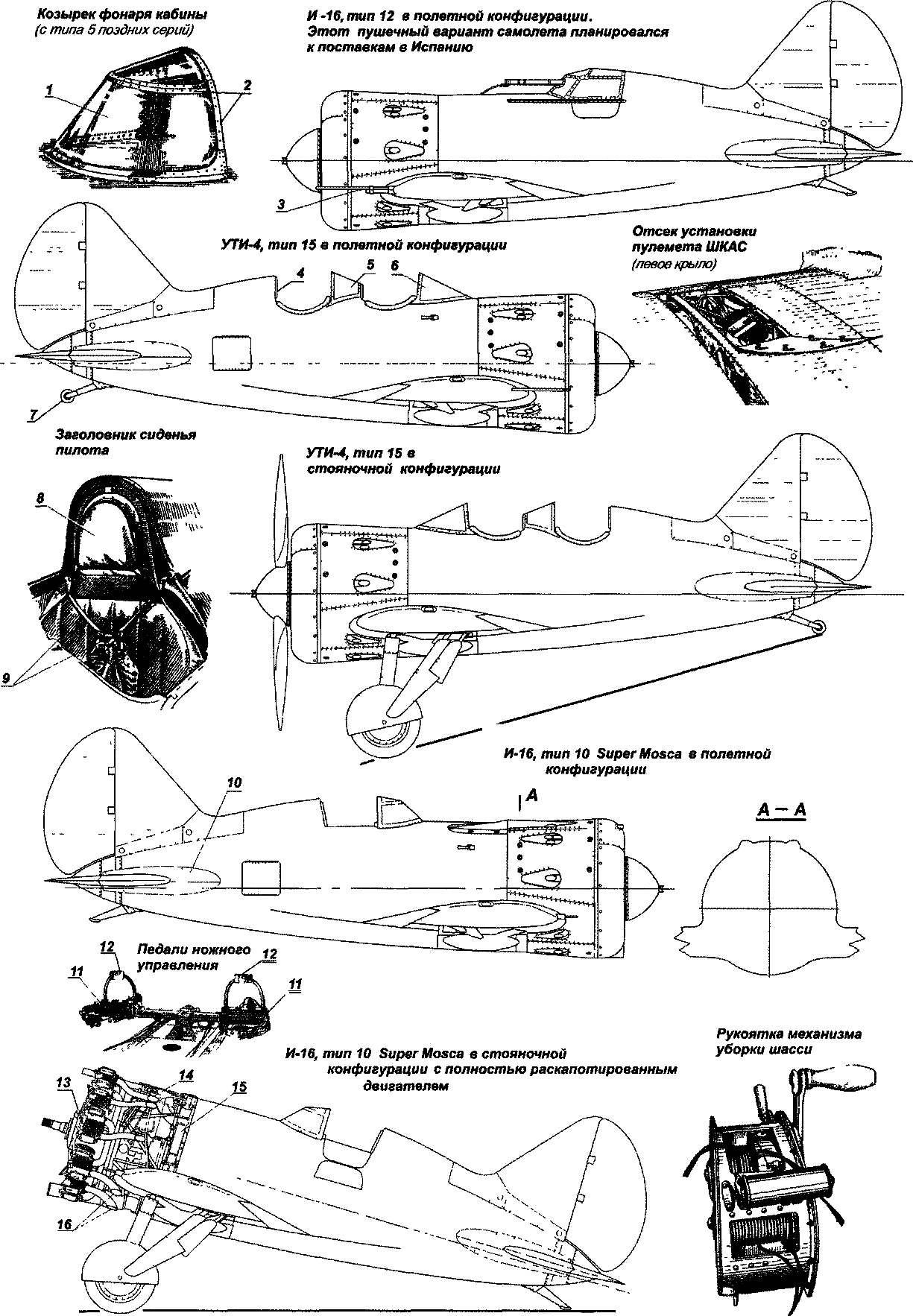 Самолет-истребитель И-16:
