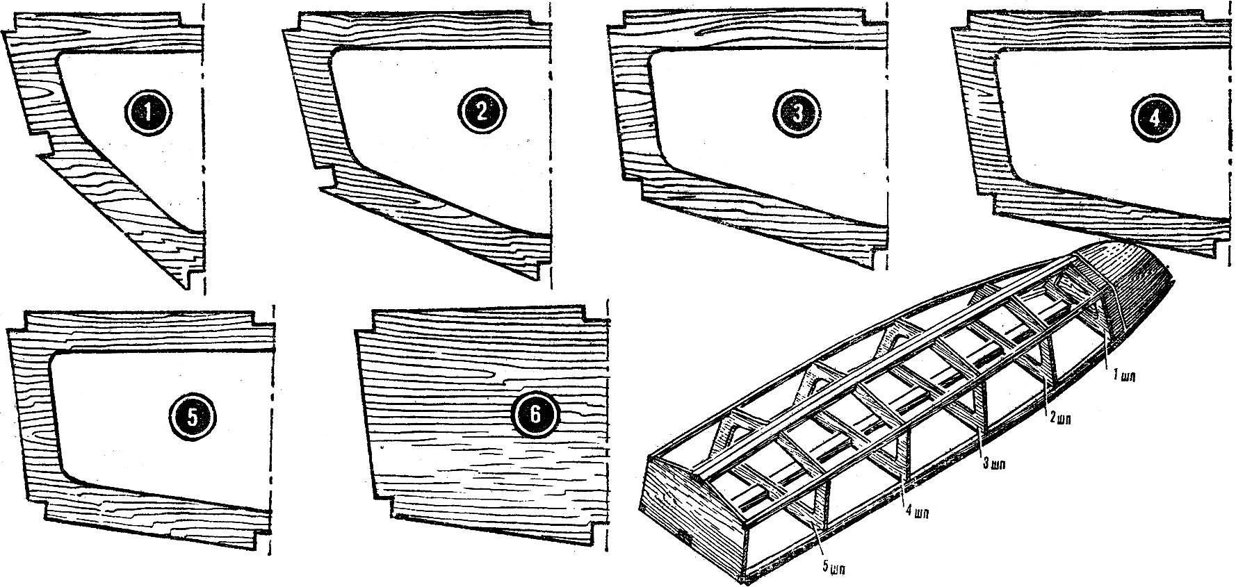 Рис. 2. Технология изготовления набора корпуса.