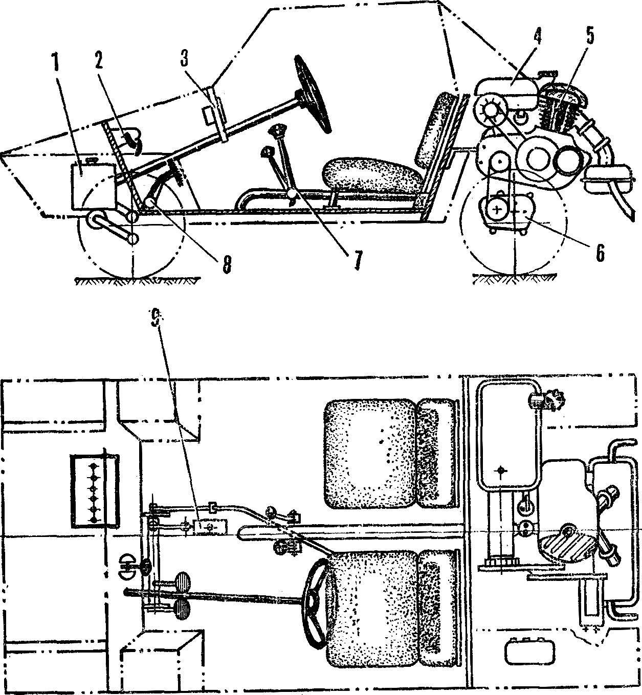 Рис. 2. Основные узлы и агрегаты: