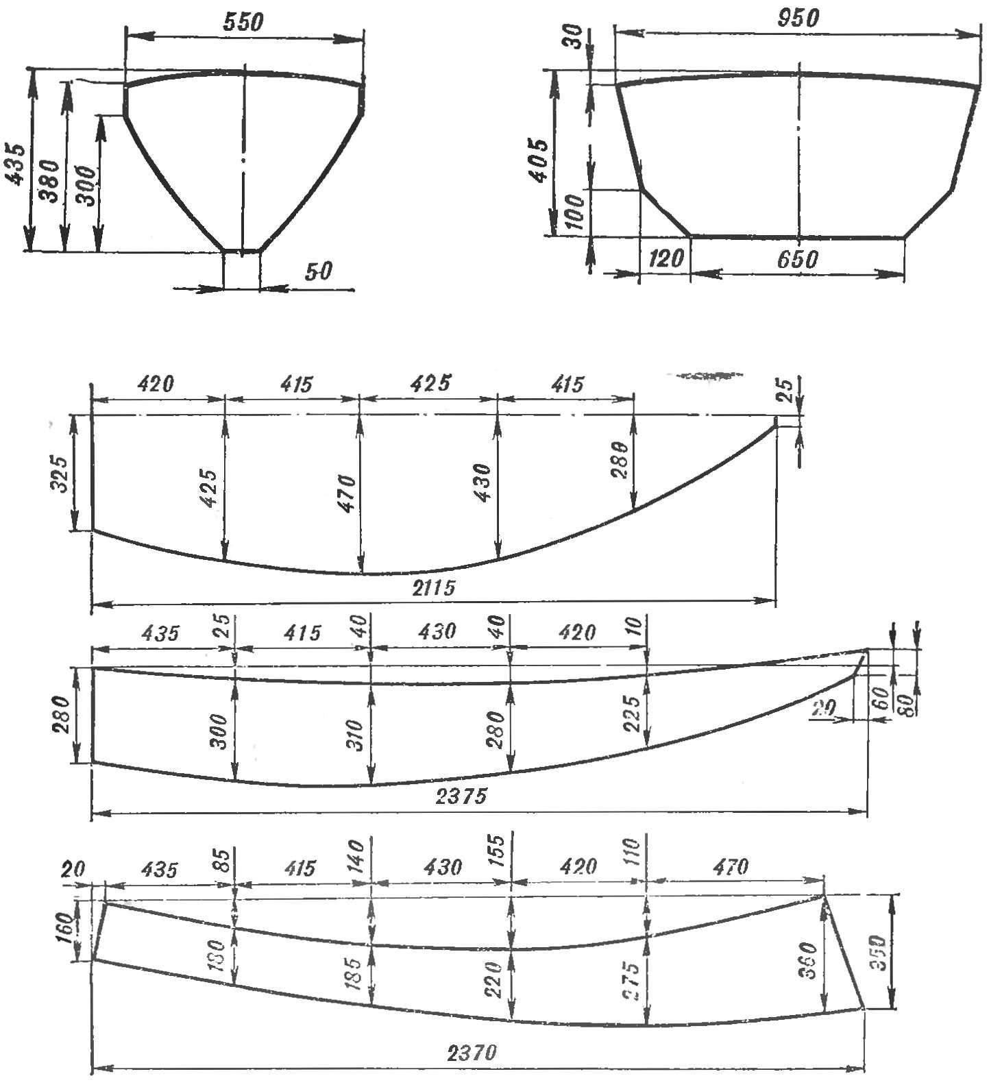 Чертежи лодок из фанеры сшей и склей фото 469