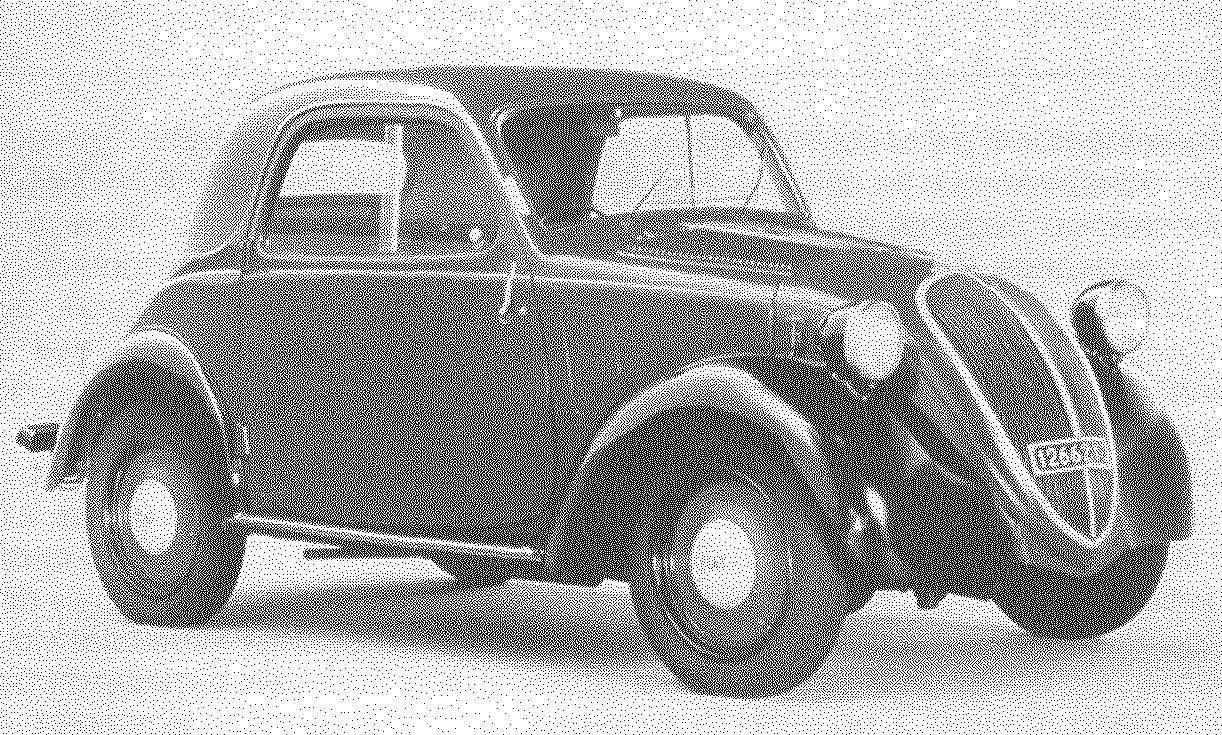 Двухместная микролитражка FIAT-500 Topolino стала первой самостоятельной работой Данте Джакозы