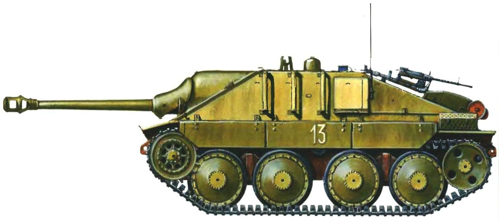 Истребитель танков G-13. Швейцария, 1948 год