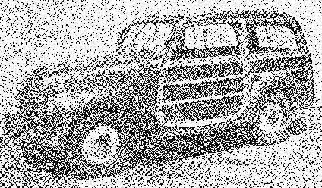 FIAT-500C выпуска 1949 года — универсал в стиле «стейшн-вагон»