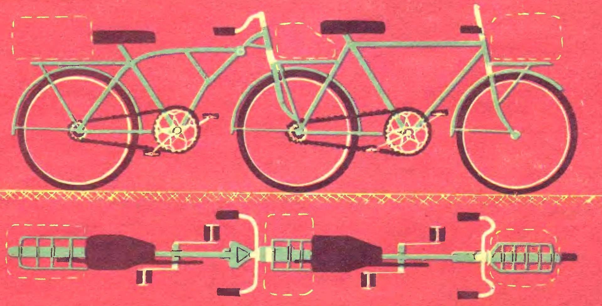 Как сделать трёхколёсный велосипед из спичек! Поделки