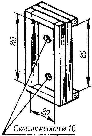 Рис. 4. Шаблон-кондуктор