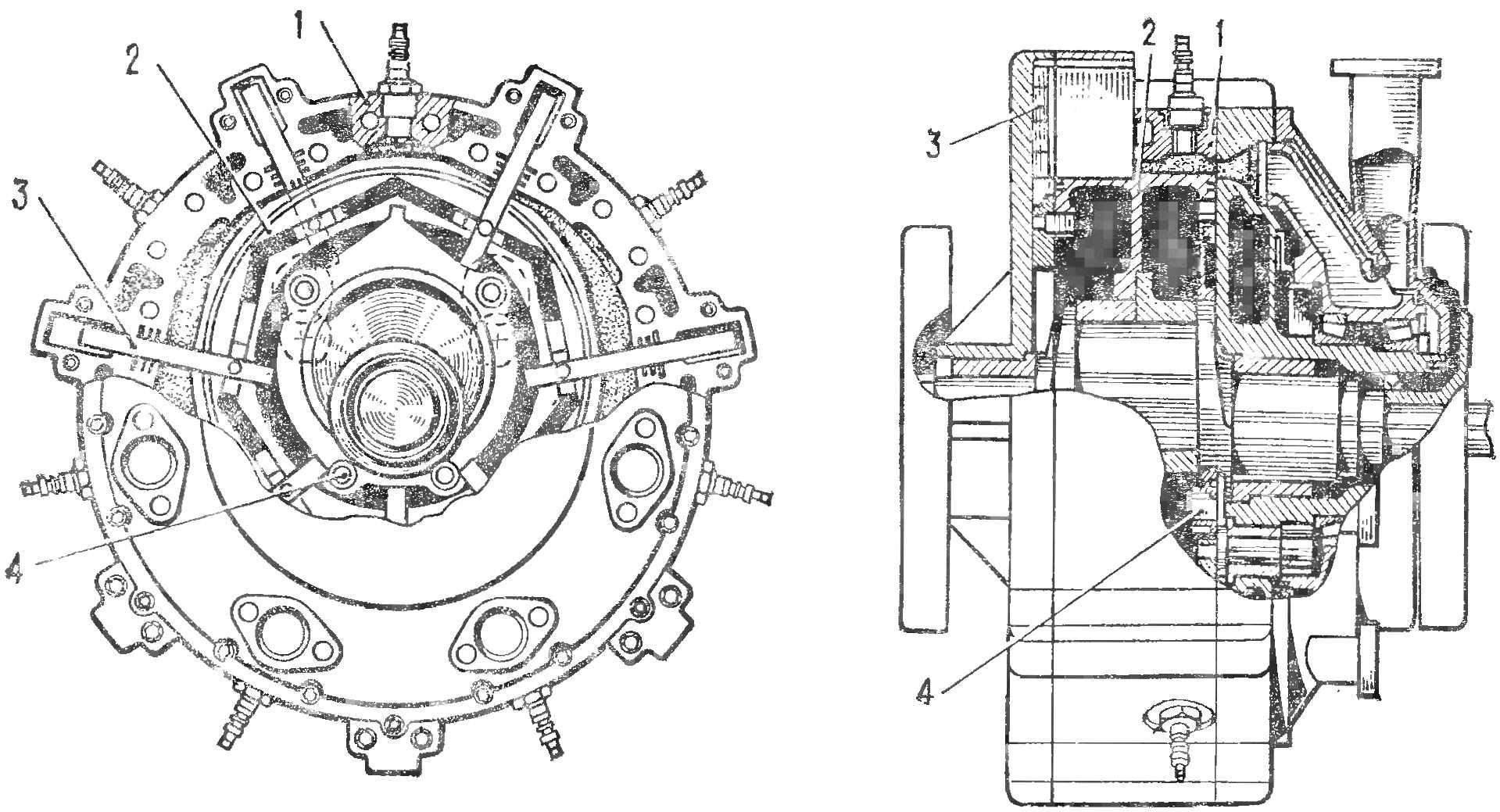 Рис. 2. Двигатель Сарича