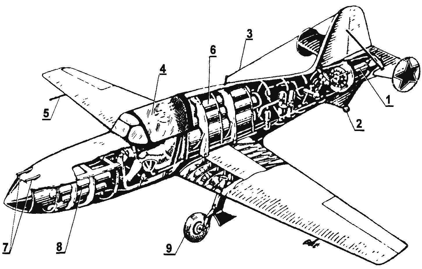 Компоновка БИ-1