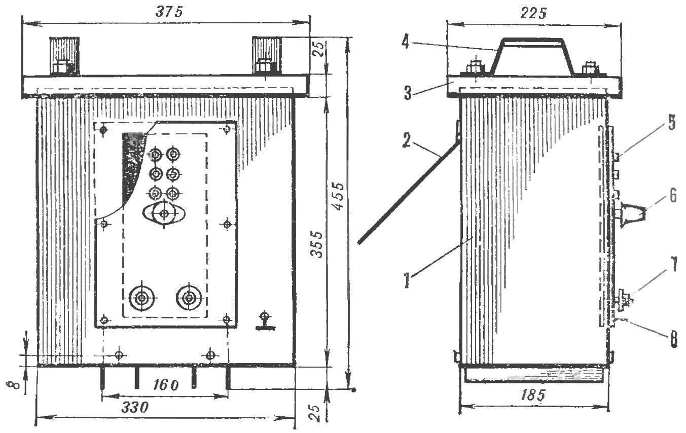 Рис. 1. Сварочный трансформатор