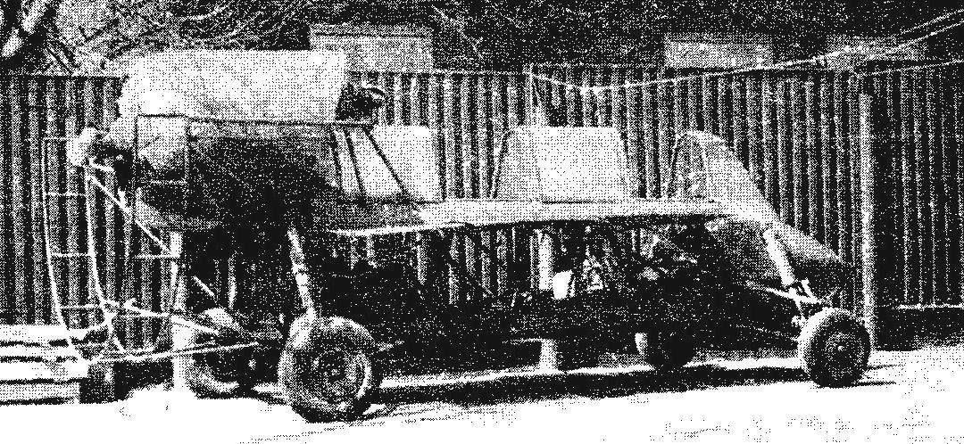 АК-6 на колесном шасси