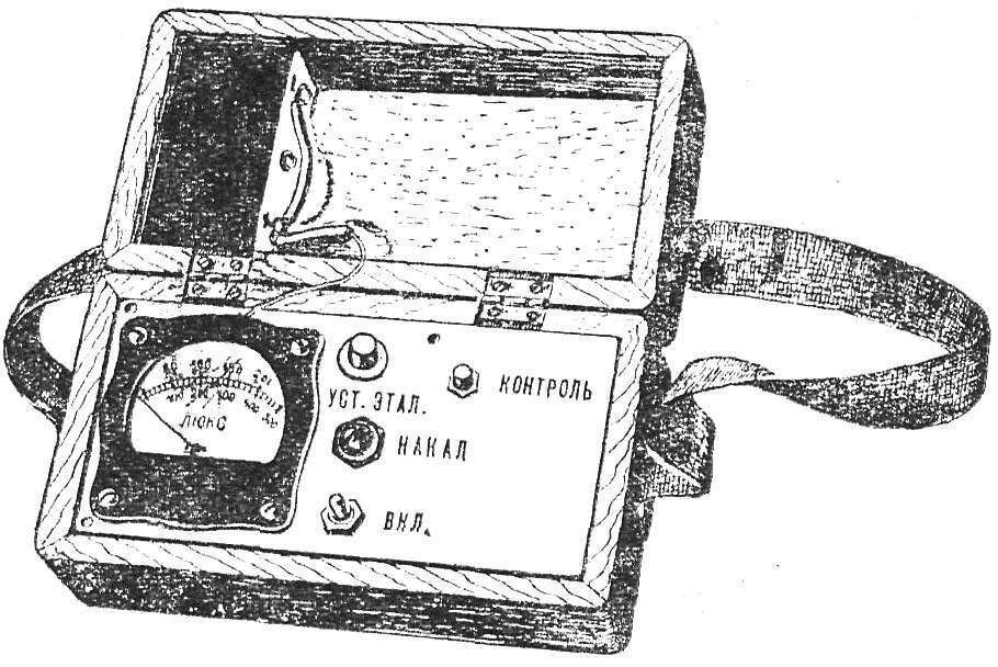 Рис. 1. Внешний вид прибора для определения марки цемента.