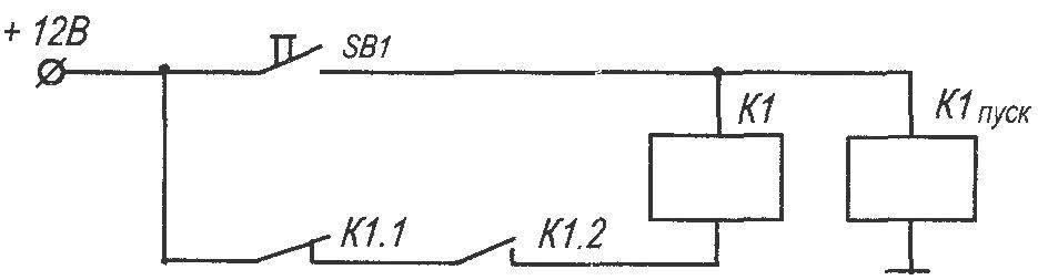 Рис. 3. Принципиальная электрическая схема подключения устройства