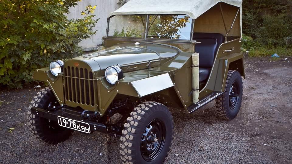 Армейский легковой автомобиль ГАЗ-67Б