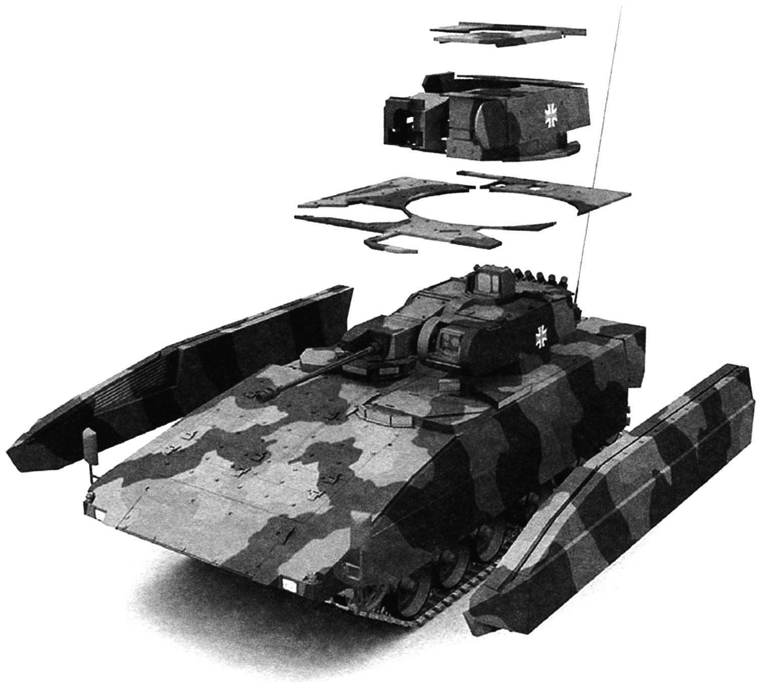 Модули защиты БМП уровня «C»