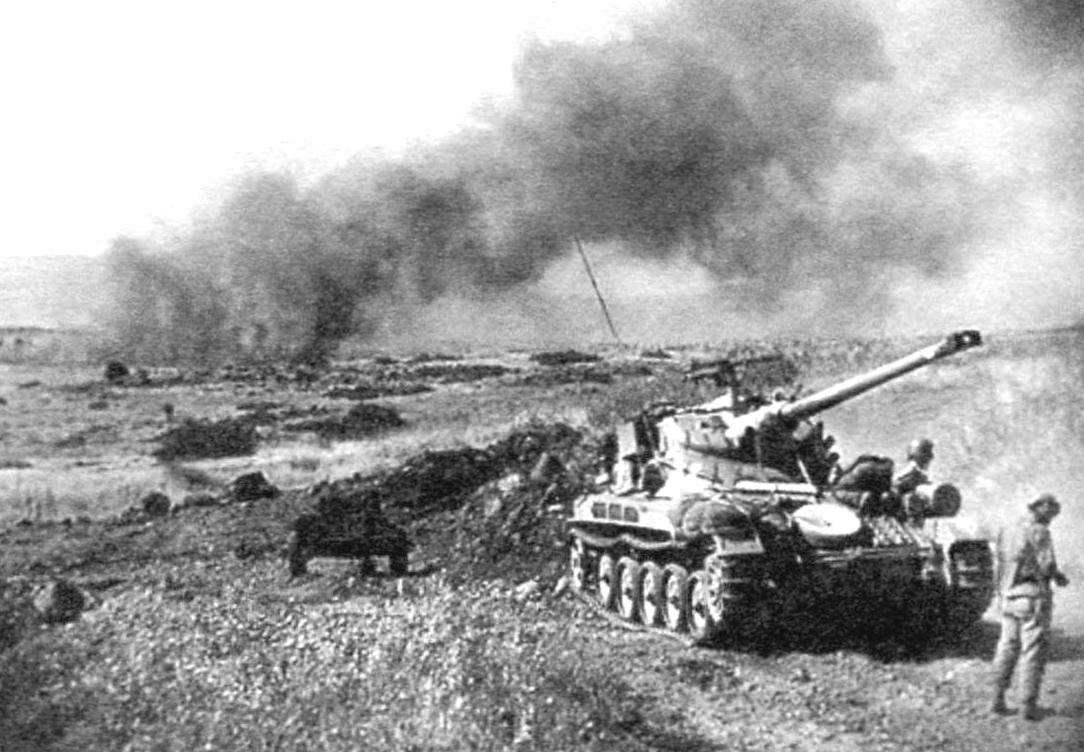 АМХ-13 израильской армии в боевых действиях. Шестидневная война, 1967 г.