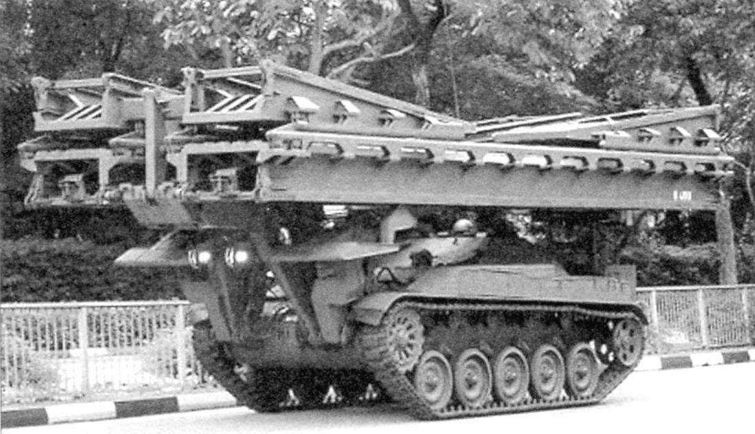 Bridge Builder on the chassis of the AMX-13