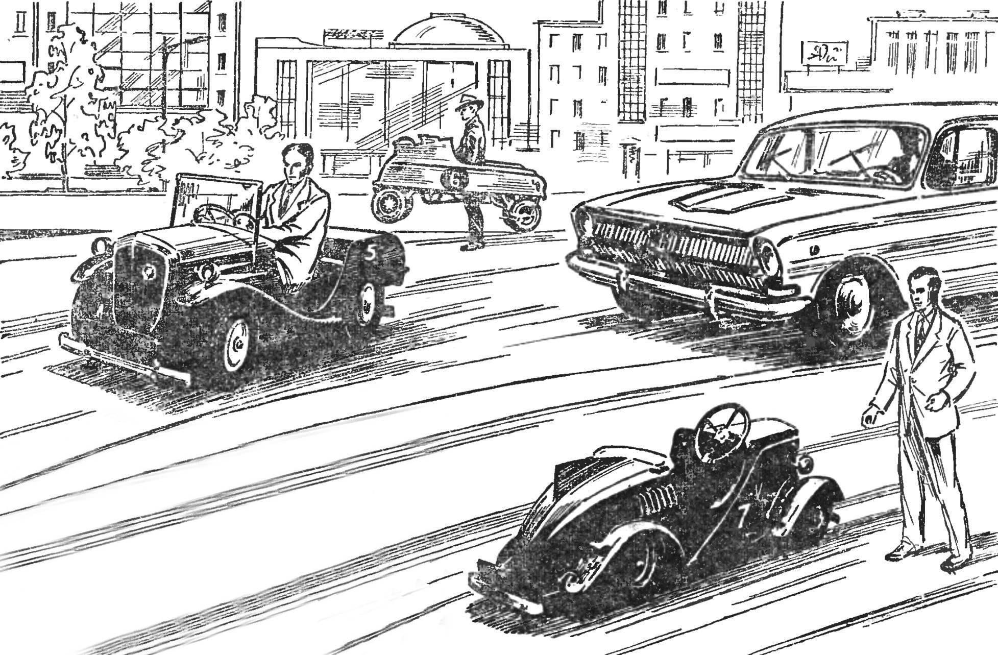Они не боятся ни заторов на улицах, ни тесноты на автостоянках