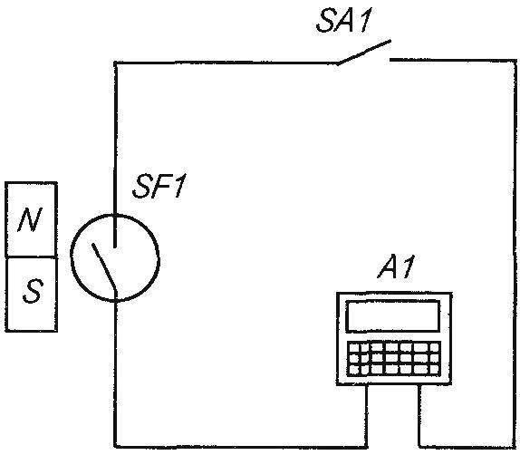 Принципиальная электрическая схема прибора