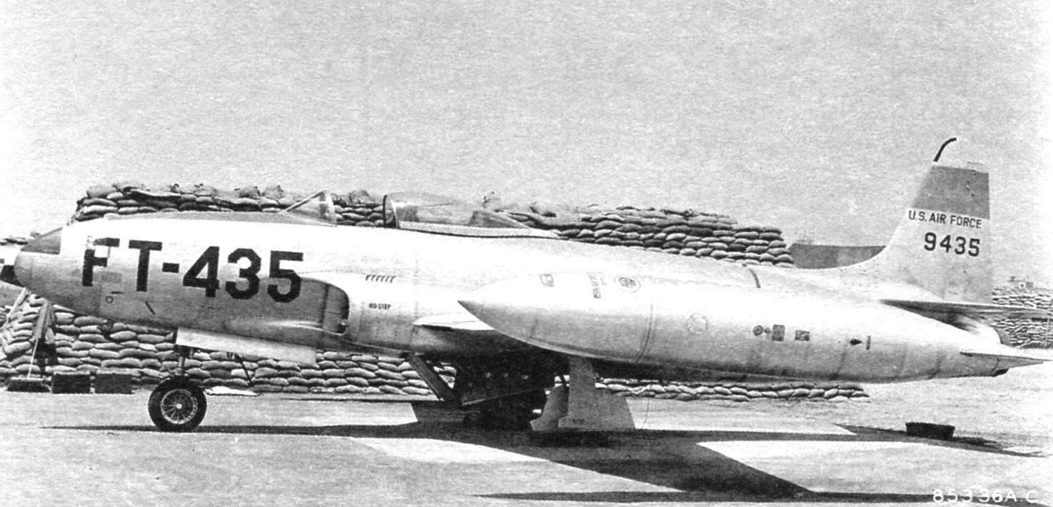 Истребитель F-80C