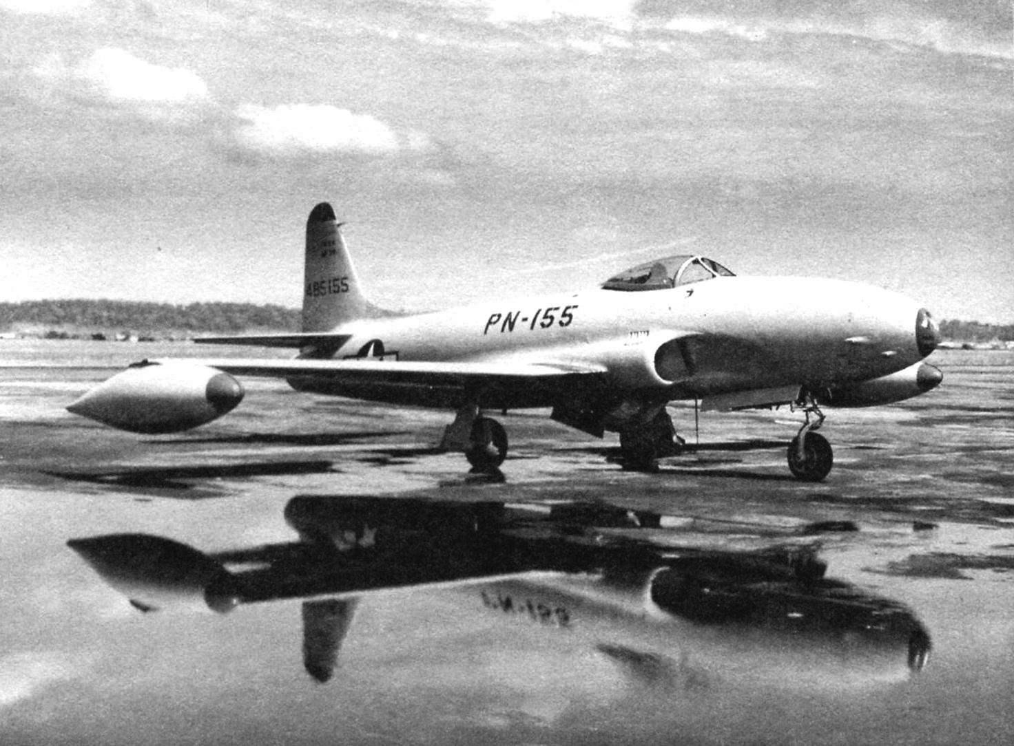 Истребитель F-80A