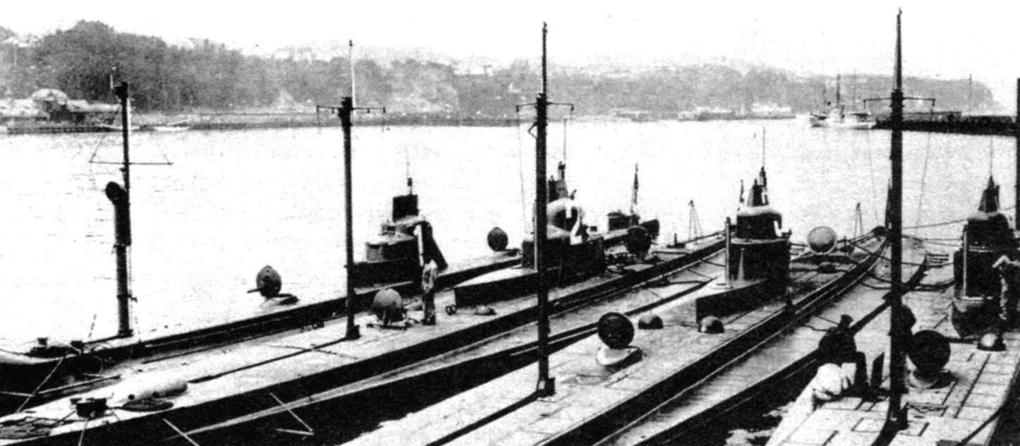 Подводные лодки типа «U-1», Германия, 1907 г.