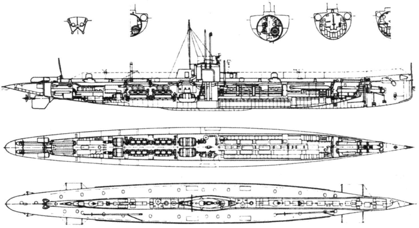 Подводные лодки «U-5» и «U-6», Германия. 1911 г.
