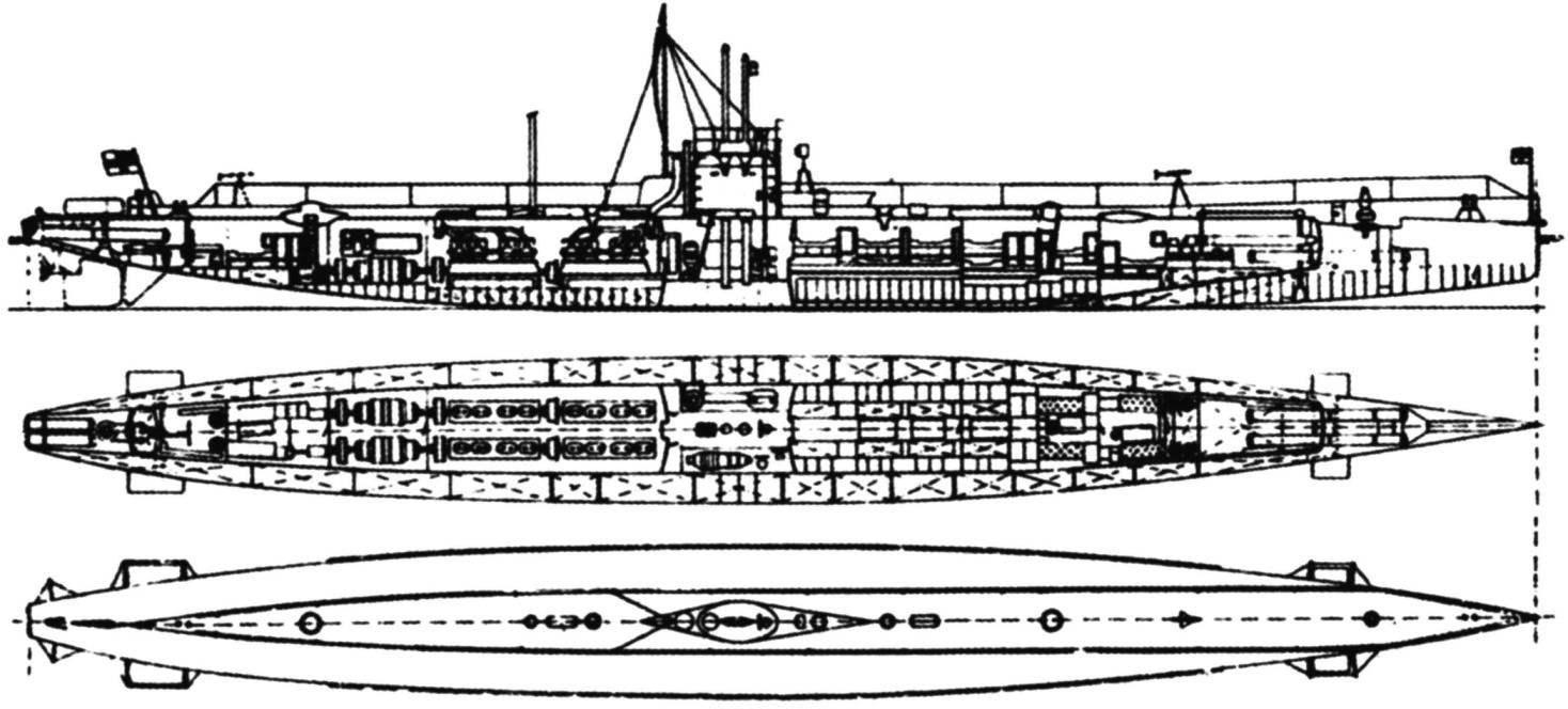 Подводные лодки «U-17» и «U-18», Германия, 1912 г.